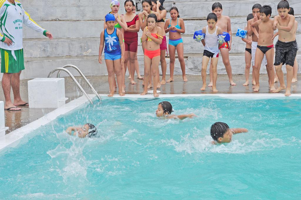 Medidas de seguridad infantil en piscinas