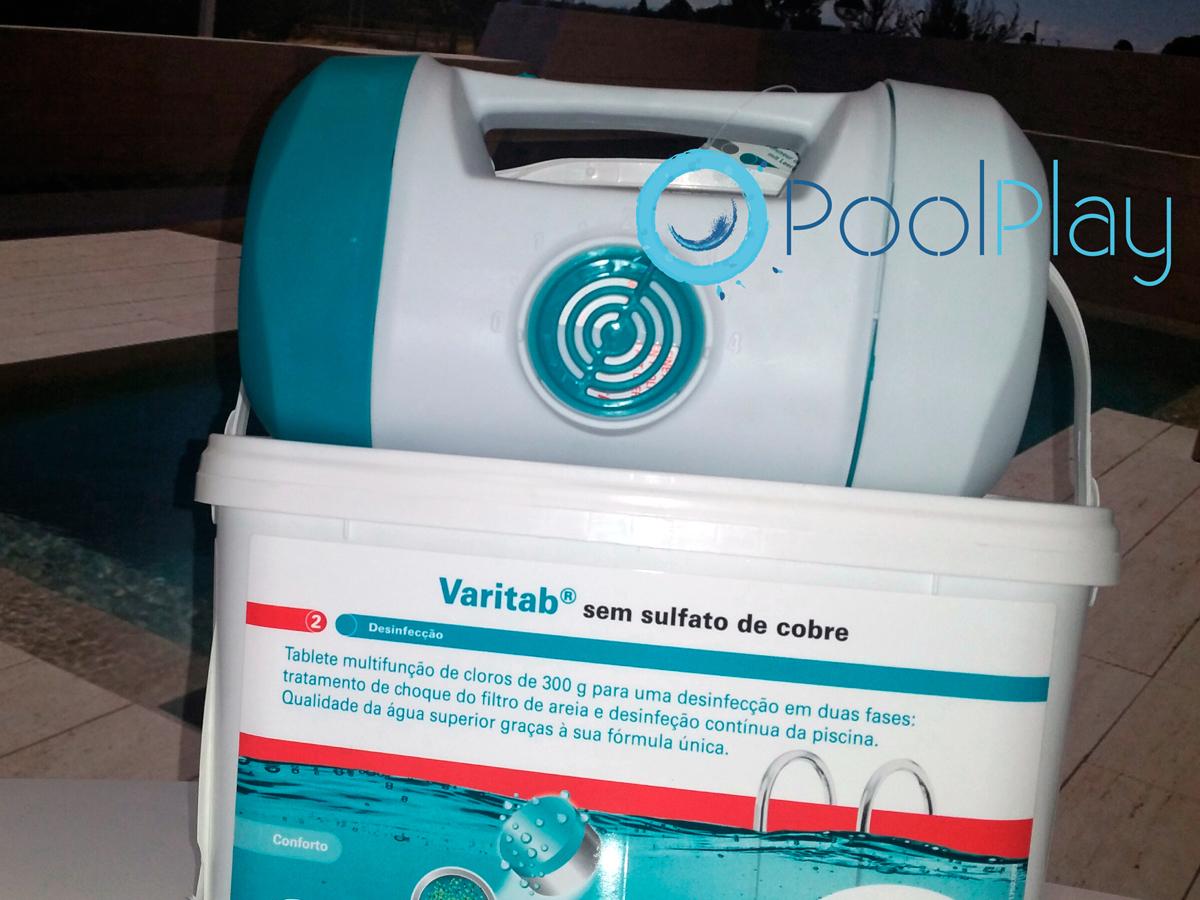 Lote Bayrol para la desinfección del agua de la piscina
