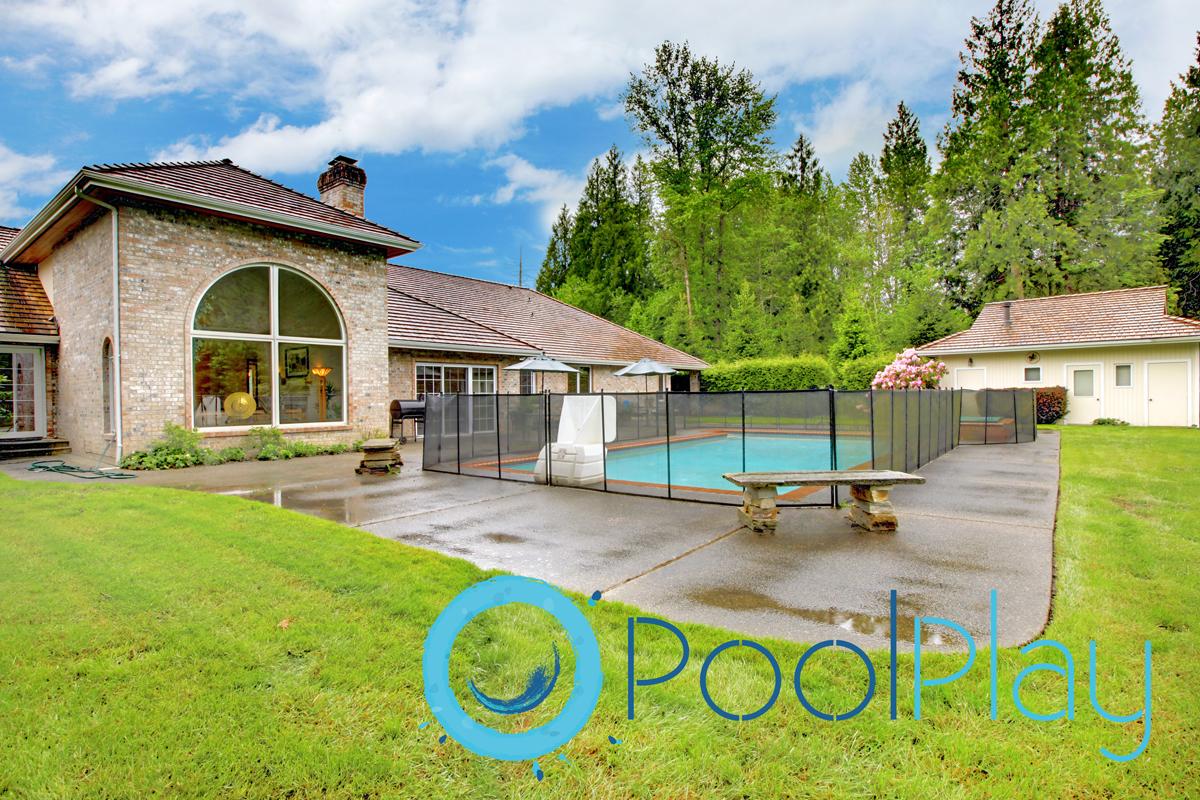 Vallados desmontables para piscinas