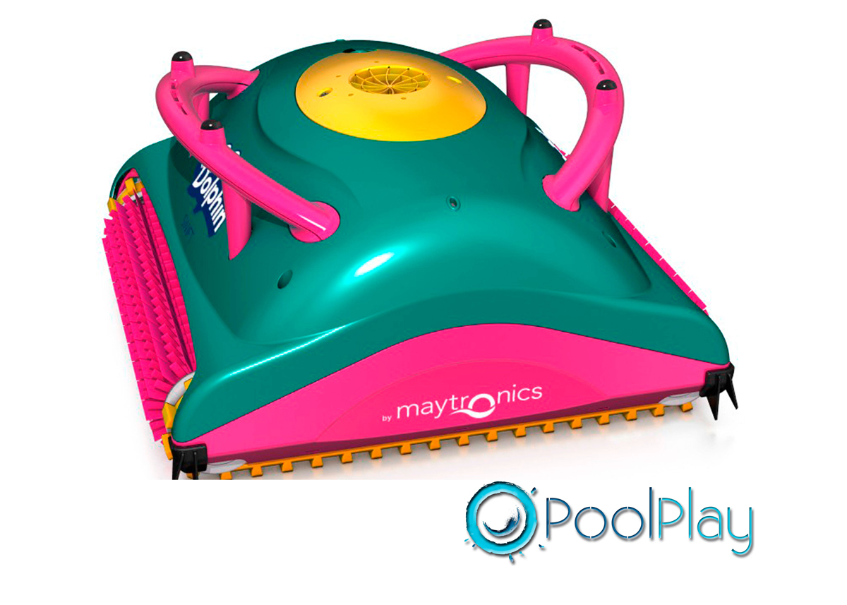 Limpiafondos eléctrico para piscinas