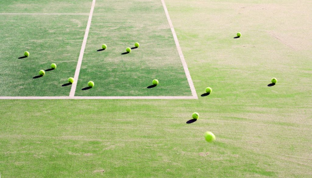Rehabilitacion de pistas deportivas. Tenis