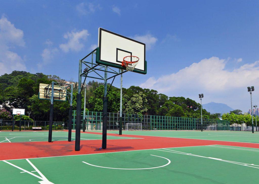 Rehabilitacion de pistas deportivas.